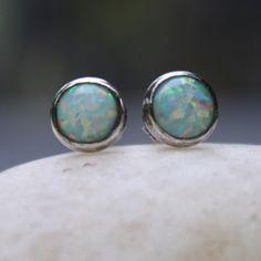Tiny Opal Ear Studs. I want.