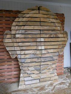 Pallets Head #Art, #Pallets