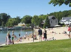 Zorn Park Beach - Harbor Springs, Michigan