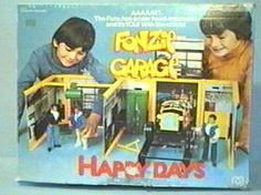 Fonzies Garage, why has then been kept from me.