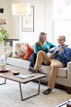 Carly & Scott's Colorful Collected Apartment -- House Tour