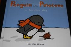 "Activity Suggestions for ""Penguin and Pinecone - a friendship story"" by Salina Yoon"