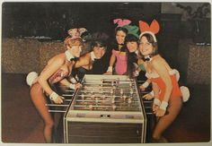 1970s playboy bunny waitresses!