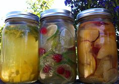 make your own vitamin water - 3 ingredients counts as a recipe!