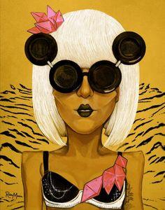 Lady Gaga Portrait #Lady #Gaga