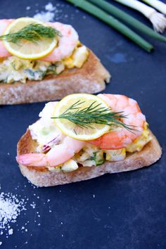 Egg Salad Tartine