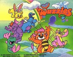 Wuzzles 1980's cartoon