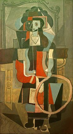 Pablo Picasso, Girl with a hoop 1919