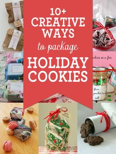10+ Creative Ways to Package Cookies for the Holidays