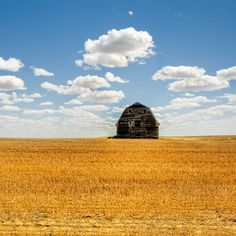 I have an obsession with old barns and skies... hence, this picture.