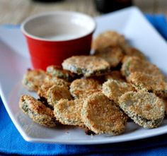 "Copycat Oven ""Fried"" Pickles"