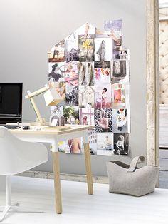Trendenser - moodboard, table + lamp