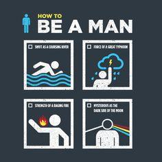 How to be a man, according to Shang. #Mulan #Disney