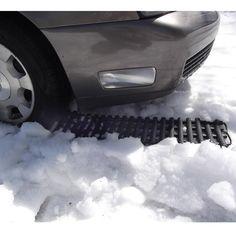 The Stuck In Snow Extrication Kit - Hammacher Schlemmer