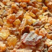 Myrrh, the second most wonderful resin in the world.