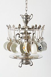 Every day would be like a Mad Hatter tea party in your kitchen with this lamp.