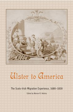 Ulster Scots come to America