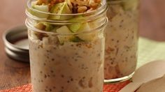 Try this new take on oatmeal. Simply refrigerate overnight, and you have ready-to-go oatmeal in the morning!