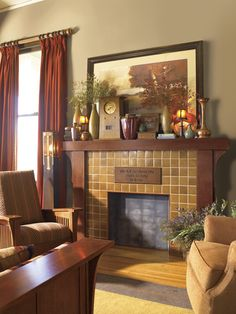 Stickley Find of the Day: Eastwood Fireplace Mantel