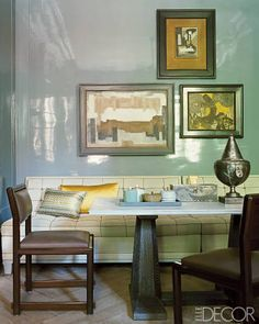 A Grey Lacquer Dining Room