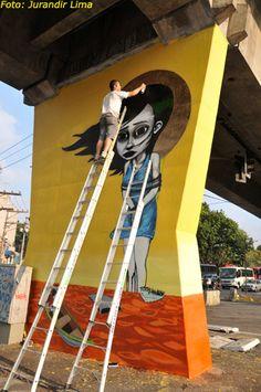 Open Museum of Urban Art/São Paulo. Av Cruzeiro do Sul/2012