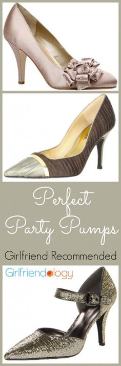 Perfect Party Pumps #shoes #holidays #party