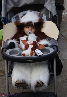 Gizmo DIY costume for babies