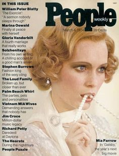 Twitter / BethEleri: First ever issue of People ...