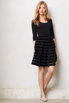 skirt, holiday parties, traci rees, sabl ribbon, day dresses, little black dresses, ribbon dress, shoe, stripe