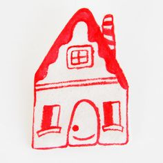 Home Cozy Home Brooch by romawinkel on Etsy