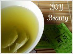DIY Beauty: green tea facial wash & toner