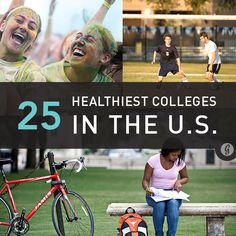 The 25 Healthiest Colleges in the U.S.