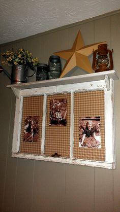 Added shelf to Old Window