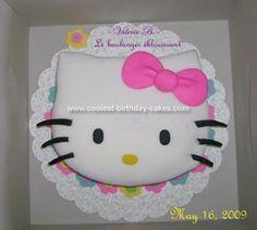 Hello Kitty Birthday Cake