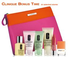 New gift in UK and Ireland at selected stores. Not available online. Here is the list: http://clinique-bonus.com/united-kingdom/