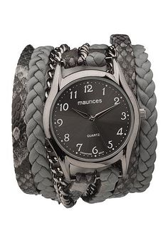 braided wrap watch (original price, $24) available at #Maurices