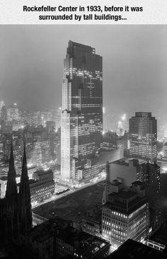Rockefeller Center In The Past