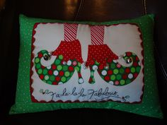 ELF SHOES pillow