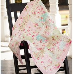 Verna Mosquera's Rosewater collection is fresh and romantic. The Rosewater Quilt inspires love and sweetness. With this tutorial, you can learn how to make a quilt that will add delicate beauty to any room of your home.