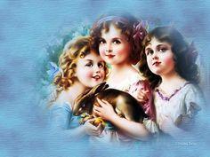 Three little girls... - Other Wallpaper ID 940143 - Desktop Nexus Abstract