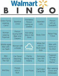 Walmart Bingo!