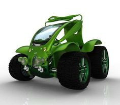 CD2 Grasshopper Vehicle is Green Like Grass #eco #vehicles trendhunter.com