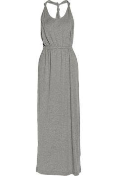 Chinti and Parker|Organic cotton-jersey maxi dress