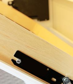 diy murphy bed | DIY Mechanism Arm attached to a wooden frame
