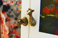 Love these cabinet door handles