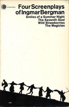 Four Screenplays of Ingmar Bergman. Designed by John + Mary Condon