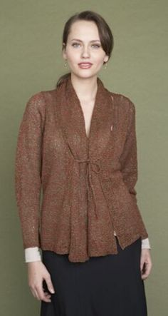 Knit - Summer Cardigan & Scarf - Size S-2X - Sport Weight ]2] & Worsted Weight [4]