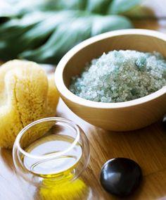 Materials for making bath salts
