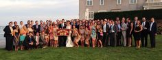 Another happy #BCmatch! @TJWish1 writes:  Great group of @Boston College @Boston College Alumni '09 killing it at our wedding. Met in Kostka freshman year!