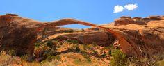 Landscape Arch, Arches National Park, UT.